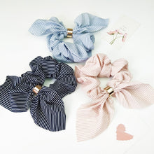 ClaudiaG Stripe Scrunchie -Set of 2
