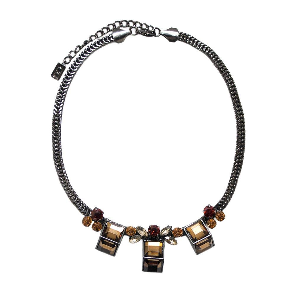 ClaudiaG Sweet Geo Necklace - Sienna