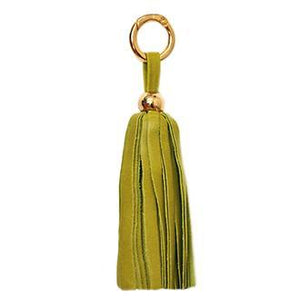 ClaudiaG Tassel -  Lime/Gold