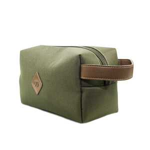 ClaudiaG The Tourist Pouch- Olive Green/Chocolate