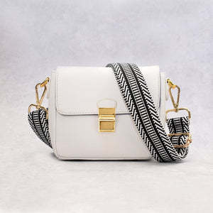 ClaudiaG Tiny Leather Handbag -White (Option 2)