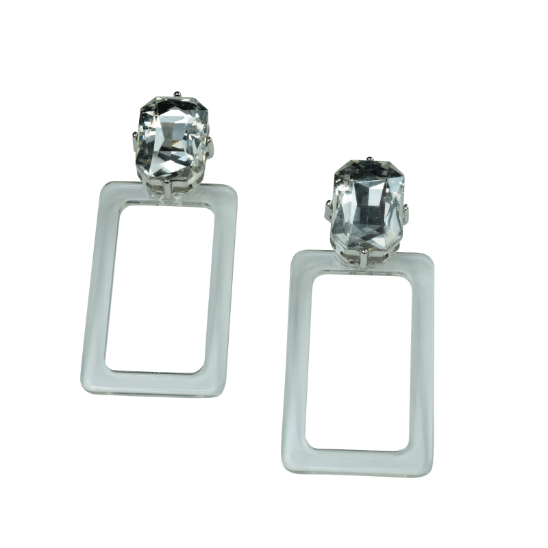 ClaudiaG Zully Earrings- Clear