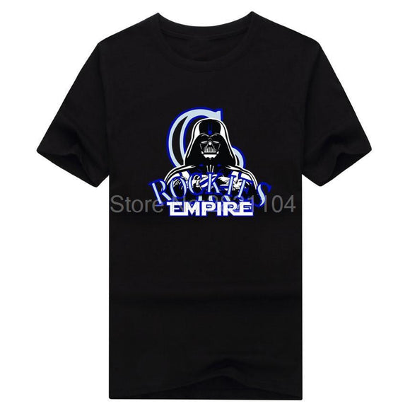 Colorado Rockies Darth Vader Empire T-Shirt