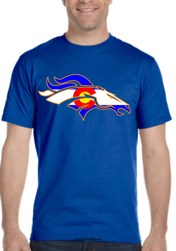 Colorado Broncos T-Shirt Men and Women