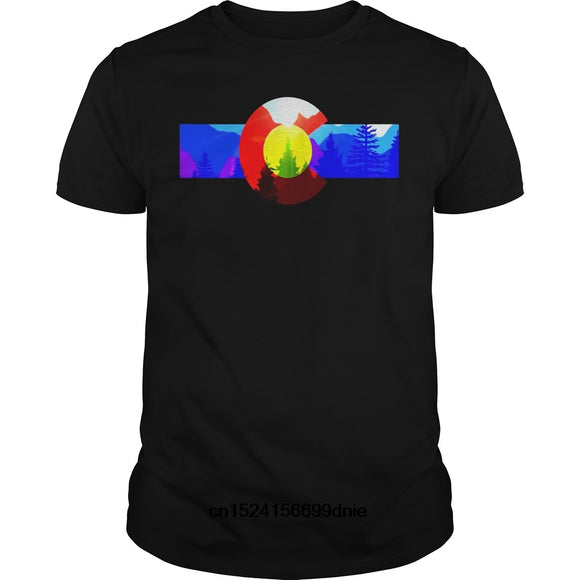 Colorado Retro Neon T-Shirt Men and Women