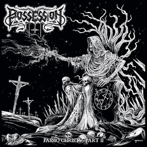 "Possession / Venefixion ""Passio Christi - Part II / Necrophagous Abandon"" Split Digipak CD"