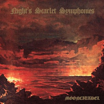"MOONCITADEL ""Night's Scarlet Symphonies"" LP"