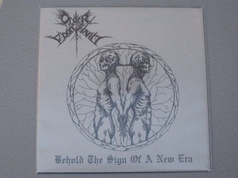 Order of the Ebon Hand / Akrotheism Split 7""