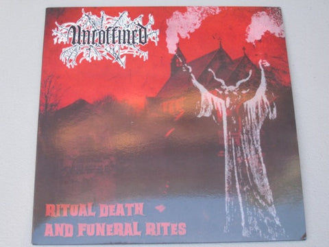 "Uncoffined ""Ritual Death and Funeral Rites"" LP"