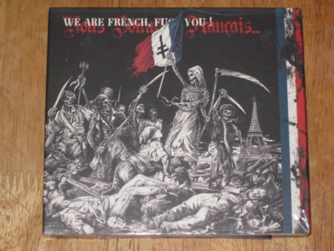 V/A We Are French... Fuck You! Double Digipak CD