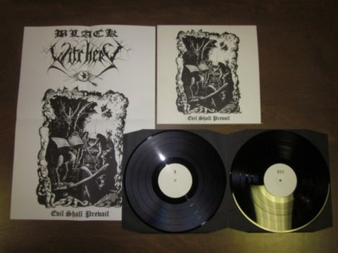 "Black Witchery ""Evil Shall Prevail"" Regular Double LP"