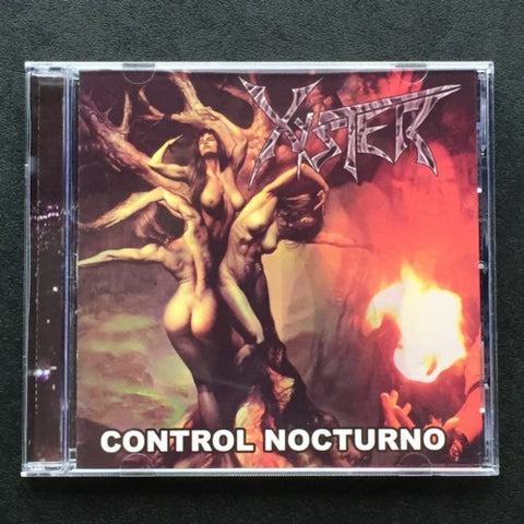 "Xyster ""Control Nocturno"" CD"