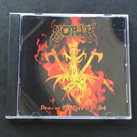 "North ""Demo'ns of Fire 93/94"" CD"