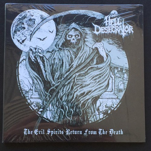 "Hell Desecrator ""The Evil Spirits Return From the Death"" CD"