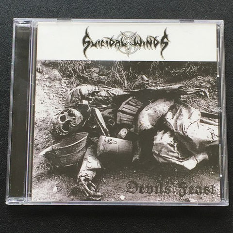 "Suicidal Winds ""Devils Feast"" CD"