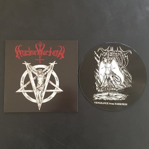 "Death Yell ""Vengeance From Darkness"" Pic LP (Lim to 100)"