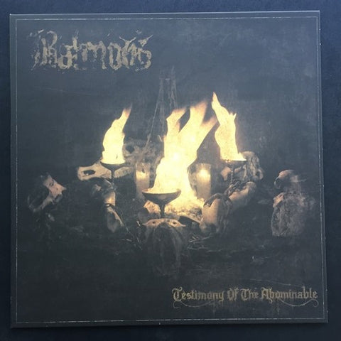 "Balmog ""Testimony of the Abominable"" LP"