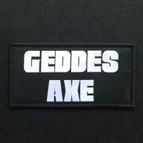 "Geddes Axe ""Logo"" Patch"