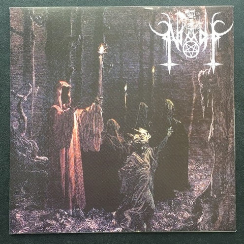 "Niadh / Sepulchral Moon ""Invoking The Ancient Glory"" Split 7"""