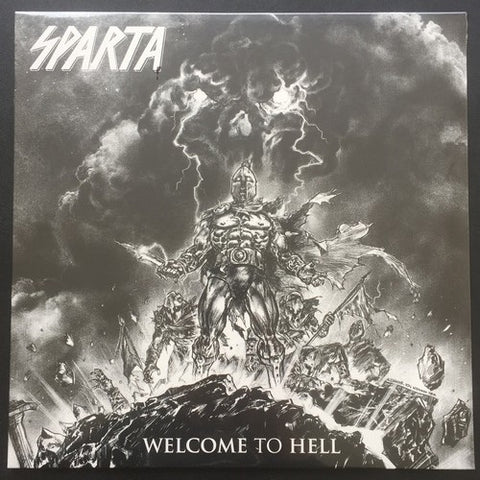 "Sparta ""Welcome to Hell"" LP"