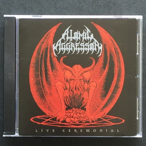 "Atomic Aggressor ""Live Ceremonial"" CD"