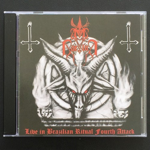 "Ad Baculum ""Live in Brazilian Ritual Fourth Attack"" CD"