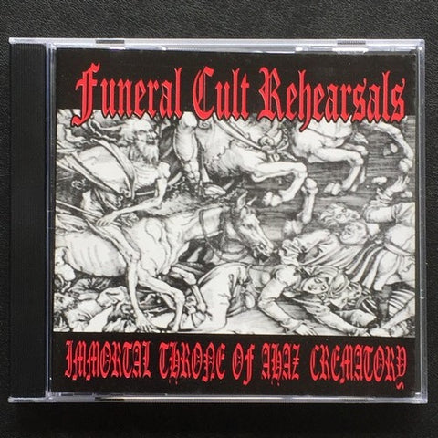 V/A Funeral Cult Rehearsals CD (Immortal, Throne of Ahaz, etc)