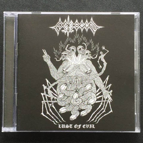 "Pathogen ""Lust of Evil"" CD"