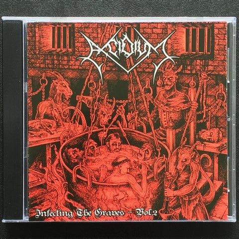 "Excidium ""Infecting the Graves Vol. 2"" CD"