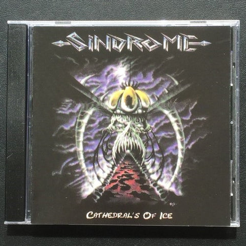"Sindrome ""Cathedrals of Ice"" CD"
