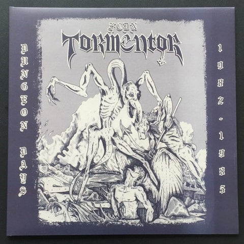 "FCDN Tormentor ""Dungeon Days 1982 - 1985"" LP+CD"