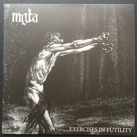 "Mgla ""Exercises in Futility"" LP"
