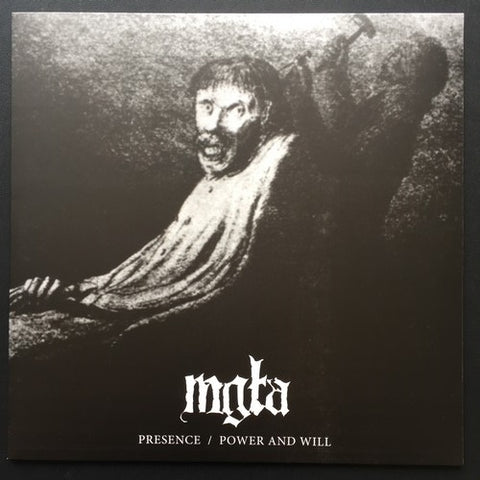 "Mgla ""Presence / Power and Will"" LP"