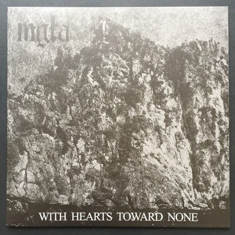 "Mgla ""With Hearts Towards None"" LP"