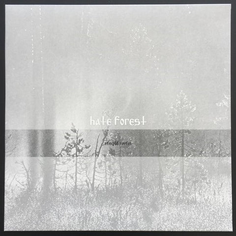 "Hate Forest ""Temple Forest"" LP"