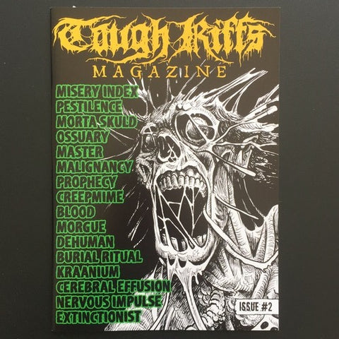 Tough Riffs Magazine #2 (Master, Blood, Morta Skuld, Misery etc)