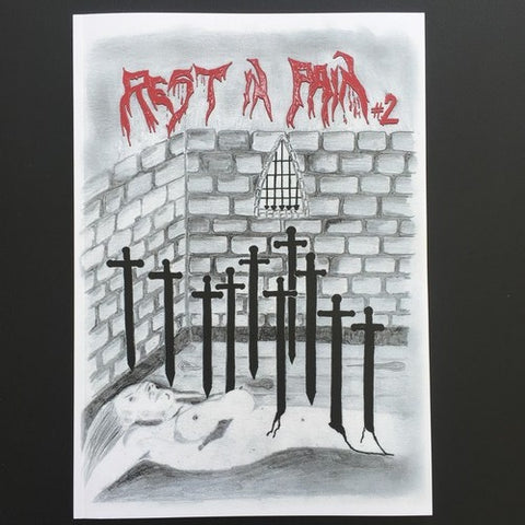 Rest in Pain Zine #2 (Profanity Angel, Mortis Dei, Aragon, etc.)