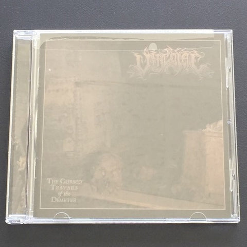"Vircolac ""The Cursed Travails of the Demeter"" CD"