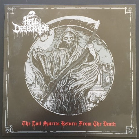 "Hell Desecrator ""The Evil Spirits Return From The Death"" LP"