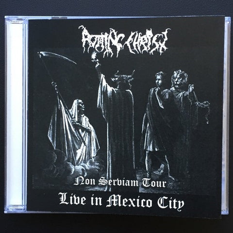 "Rotting Christ ""Non Serviam Tour Live in Mexico City"" CD"