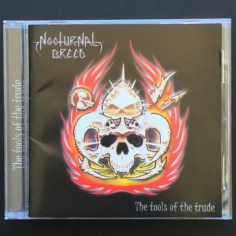 "Nocturnal Breed ""The Tools of the Trade"" CD"