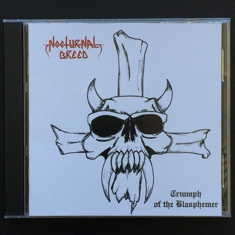 "Nocturnal Breed ""Triumph of the Blasphemer"" CD"