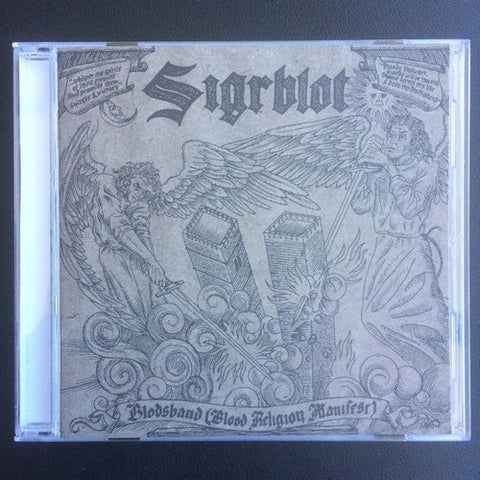 "Sigrblot ""Blodsband (Blood Religion Manifest)"" CD"