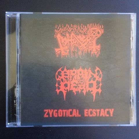 "Abhorer / Brain Dead ""Zygotical Ecstacy"" Split CD"