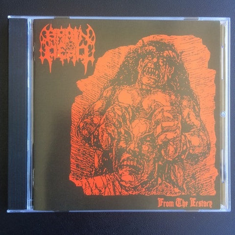 "Brain Dead ""From The Ecstacy"" CD (Cult Malaysian Black Death)"