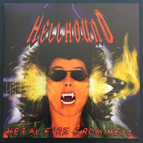 "Hellhound ""Metal Fire From Hell"" LP"