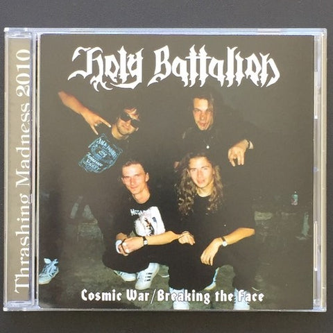 "Holy Battalion ""Cosmic War / Breaking the Face"" CD"