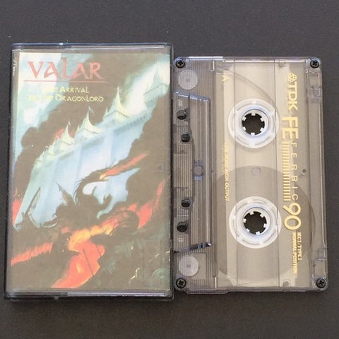 "Valar ‎""The Arrival Of The Dragonlord"" Demo"