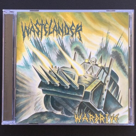 "Wastelander ""Wardrive"" CD"