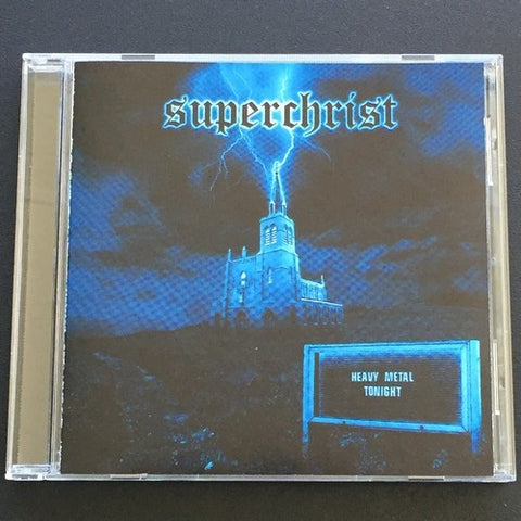 "Superchrist ""Heavy Metal Tonight"" CD"